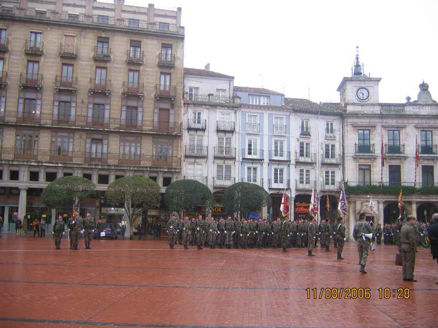 Plaza Mayor de Burgos.