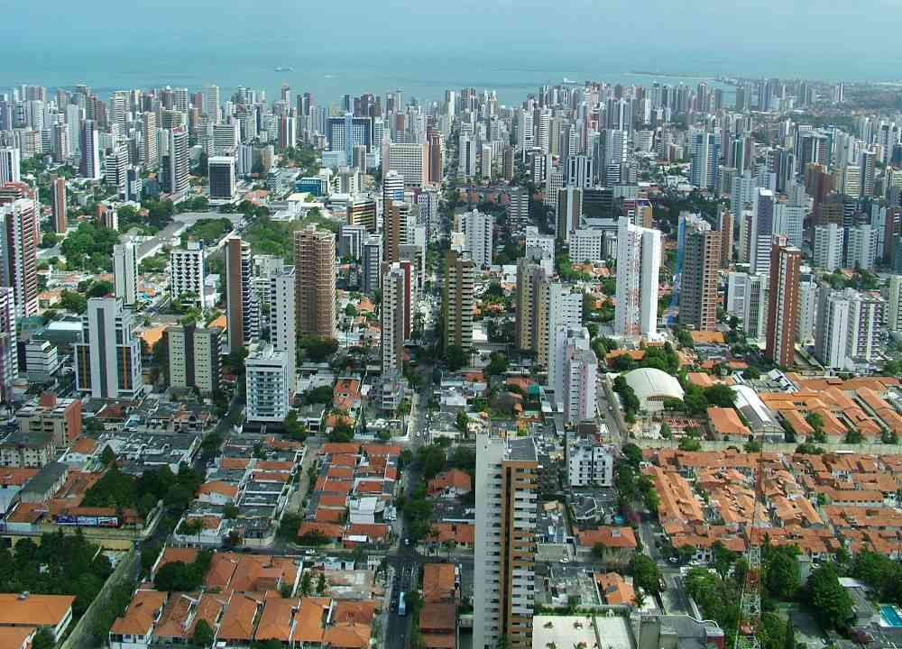 Fortaleza, capital do Ceará.